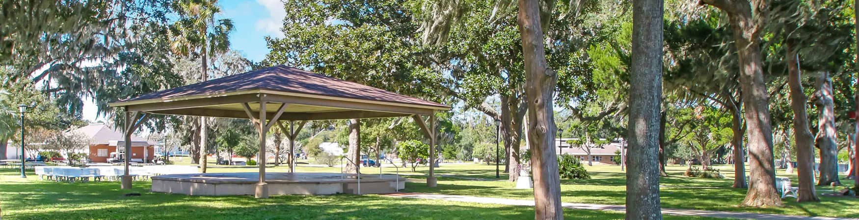 The Rotary Pavilion by the St Johns River, Orange Park Florida, Moosehaven