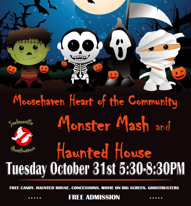Join us for trick and treats at Moosheaven