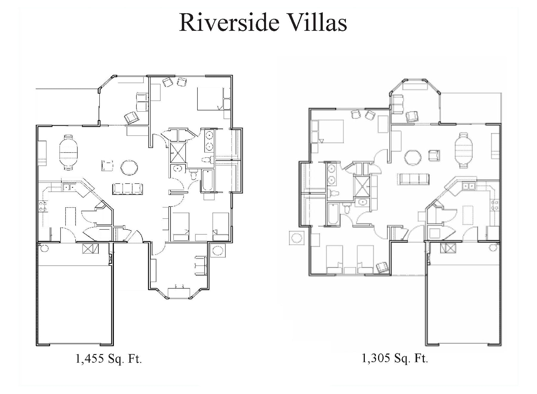 Riverside Villas Floor Plan